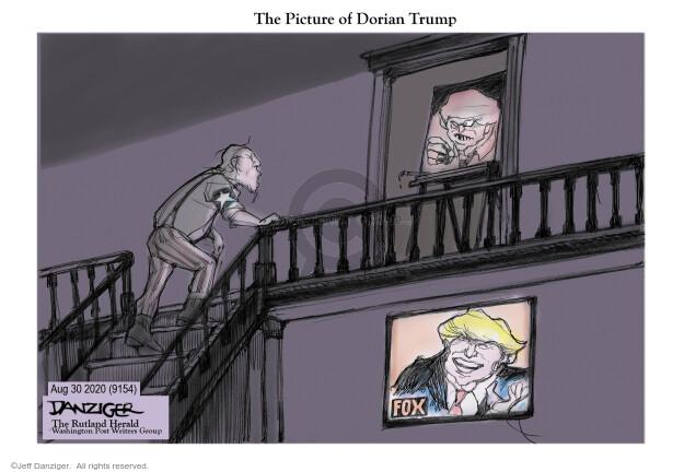 Jeff Danziger  Jeff Danziger's Editorial Cartoons 2020-08-31 president