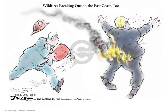 Jeff Danziger  Jeff Danziger's Editorial Cartoons 2020-09-12 coronavirus