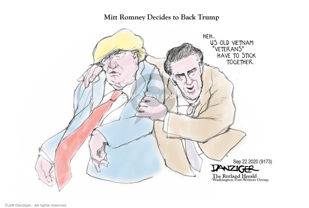 Jeff Danziger  Jeff Danziger's Editorial Cartoons 2020-09-23 editorial