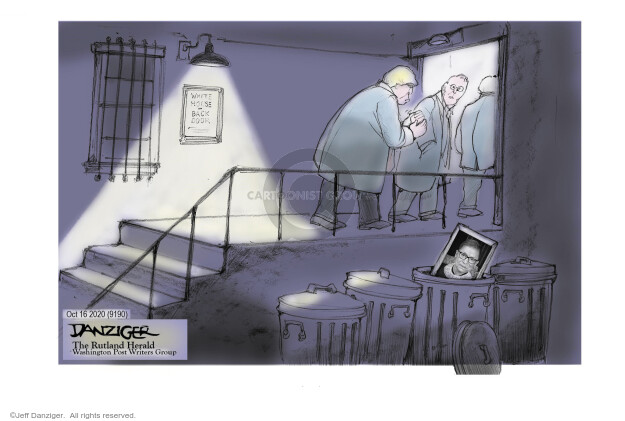 Jeff Danziger  Jeff Danziger's Editorial Cartoons 2020-10-16 Trump administration
