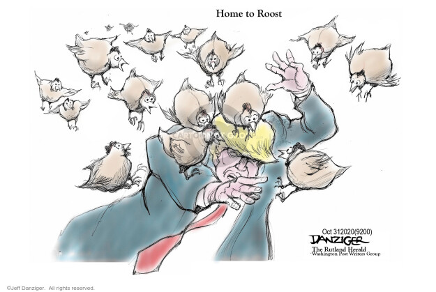Jeff Danziger  Jeff Danziger's Editorial Cartoons 2020-10-31 2020 election