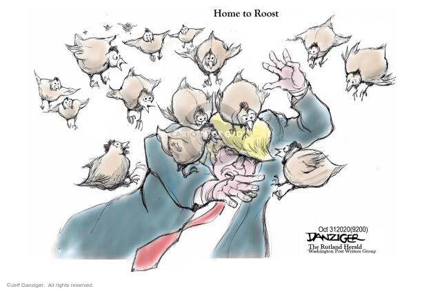 Jeff Danziger  Jeff Danziger's Editorial Cartoons 2020-10-31 2020 election Donald Trump