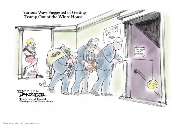 Jeff Danziger  Jeff Danziger's Editorial Cartoons 2020-11-04 2020 election