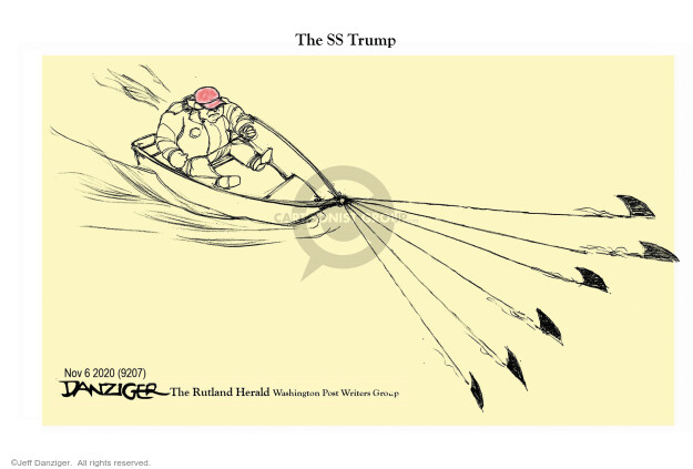 Jeff Danziger  Jeff Danziger's Editorial Cartoons 2020-11-05 2020 election