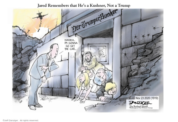 Jeff Danziger  Jeff Danziger's Editorial Cartoons 2020-11-23 vote