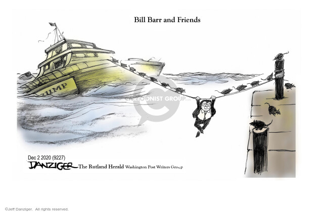 Jeff Danziger  Jeff Danziger's Editorial Cartoons 2020-12-03 defeat