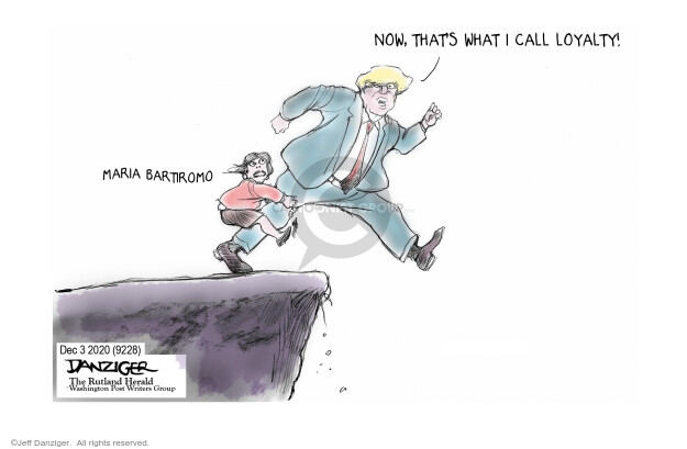 Jeff Danziger  Jeff Danziger's Editorial Cartoons 2020-12-04 journalism
