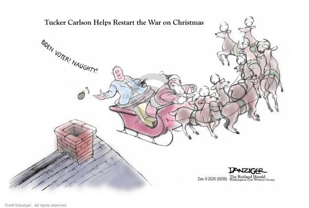 Jeff Danziger  Jeff Danziger's Editorial Cartoons 2020-12-09 Presidency