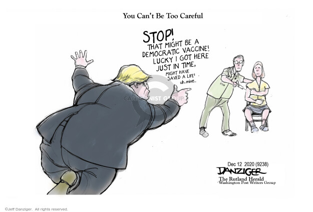 Jeff Danziger  Jeff Danziger's Editorial Cartoons 2020-12-12 coronavirus