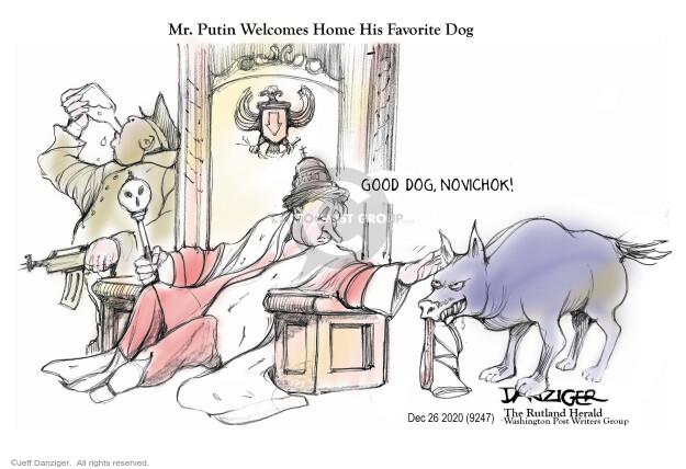 Jeff Danziger  Jeff Danziger's Editorial Cartoons 2020-12-23 attack
