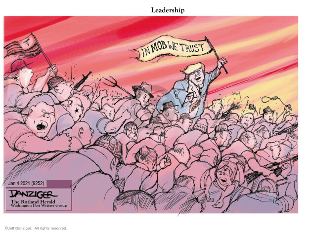Jeff Danziger  Jeff Danziger's Editorial Cartoons 2021-01-03 vote