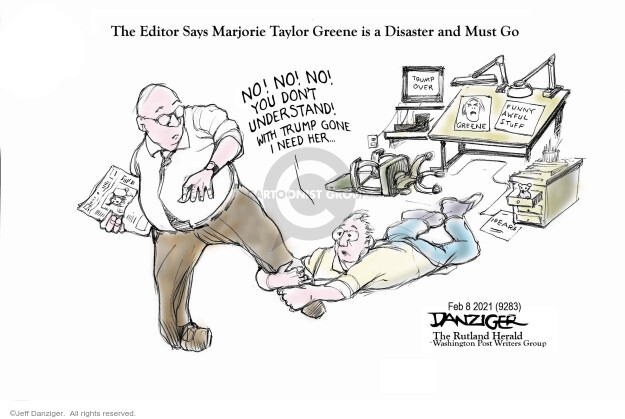 Jeff Danziger  Jeff Danziger's Editorial Cartoons 2021-02-07 legislative