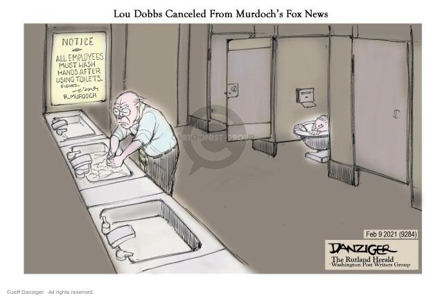 Jeff Danziger  Jeff Danziger's Editorial Cartoons 2021-02-09 news media