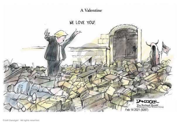 Jeff Danziger  Jeff Danziger's Editorial Cartoons 2021-02-12 legislative