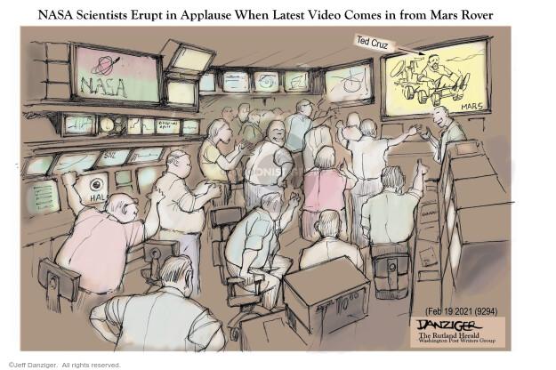 Jeff Danziger  Jeff Danziger's Editorial Cartoons 2021-02-21 senator