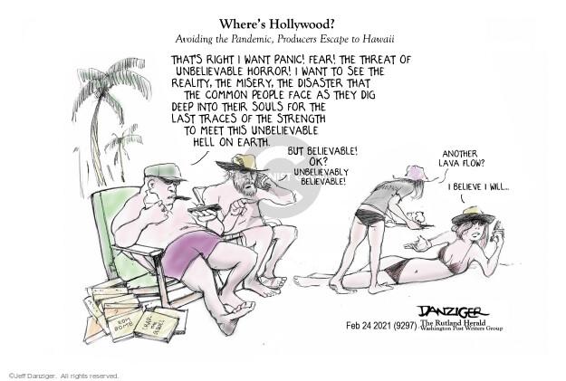 Jeff Danziger  Jeff Danziger's Editorial Cartoons 2021-02-24 Jeff