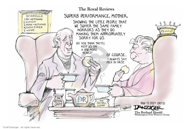 Jeff Danziger  Jeff Danziger's Editorial Cartoons 2021-03-12 discrimination