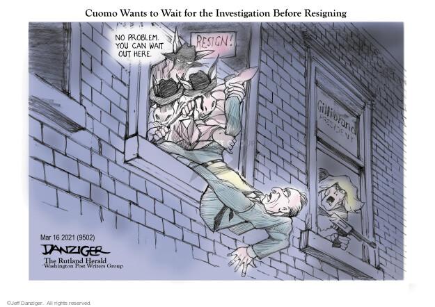 Jeff Danziger  Jeff Danziger's Editorial Cartoons 2021-03-17 senator