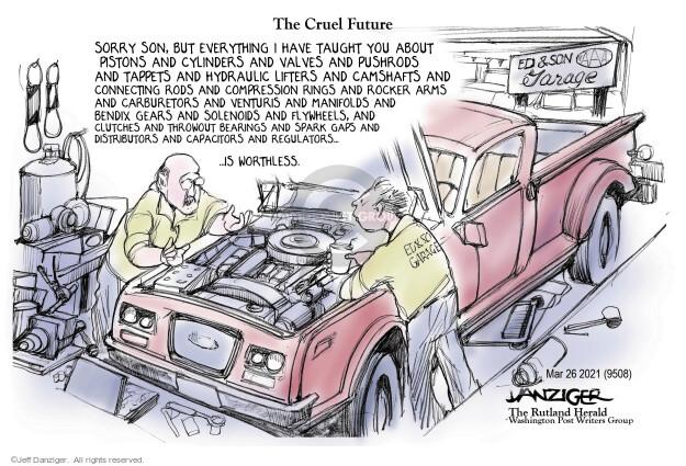 Jeff Danziger  Jeff Danziger's Editorial Cartoons 2021-03-26 you