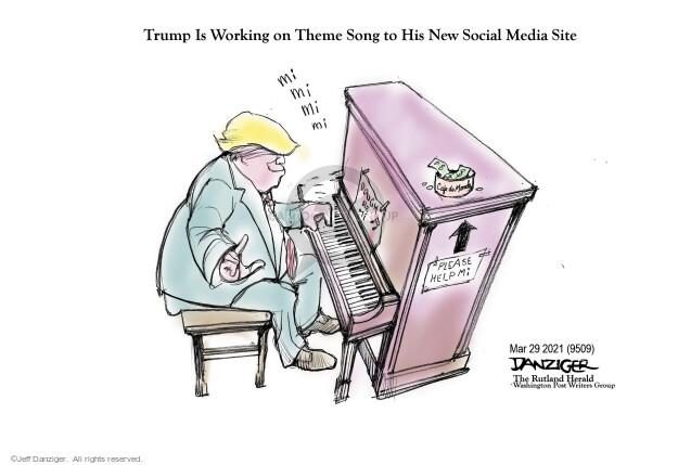 Jeff Danziger  Jeff Danziger's Editorial Cartoons 2021-03-29 Donald Trump