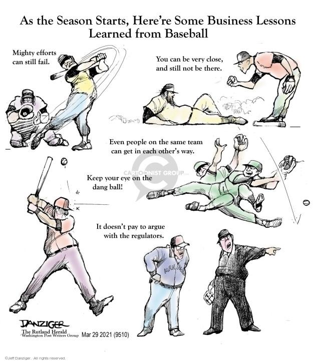 Jeff Danziger  Jeff Danziger's Editorial Cartoons 2021-03-30 people