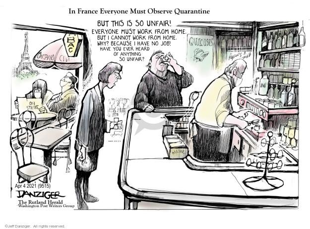 Jeff Danziger  Jeff Danziger's Editorial Cartoons 2021-04-03 coronavirus