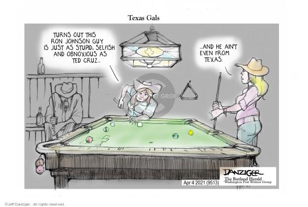 Jeff Danziger  Jeff Danziger's Editorial Cartoons 2021-04-02 Wisconsin