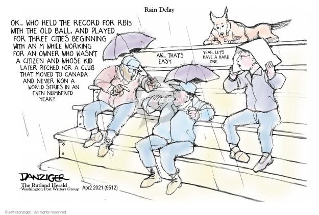 Jeff Danziger  Jeff Danziger's Editorial Cartoons 2021-04-01 loyalty