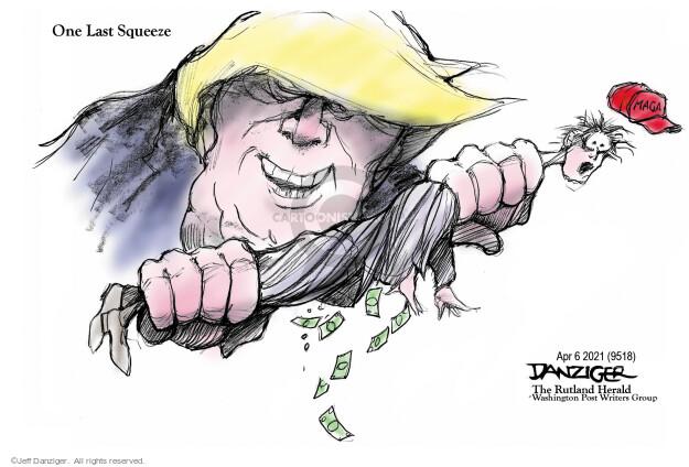Jeff Danziger  Jeff Danziger's Editorial Cartoons 2021-04-05 Donald Trump