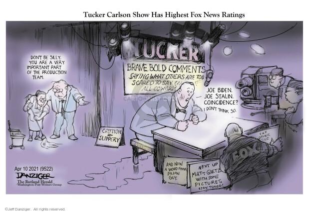 Jeff Danziger  Jeff Danziger's Editorial Cartoons 2021-04-11 news media