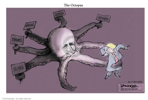 Jeff Danziger  Jeff Danziger's Editorial Cartoons 2021-04-17 American president