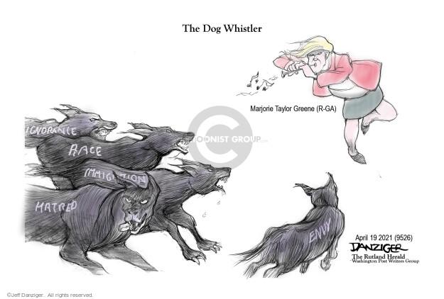 Jeff Danziger  Jeff Danziger's Editorial Cartoons 2021-04-19 discrimination