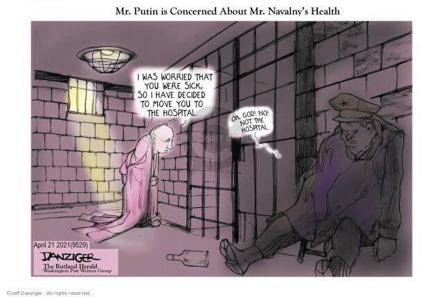 Jeff Danziger  Jeff Danziger's Editorial Cartoons 2021-04-22 health