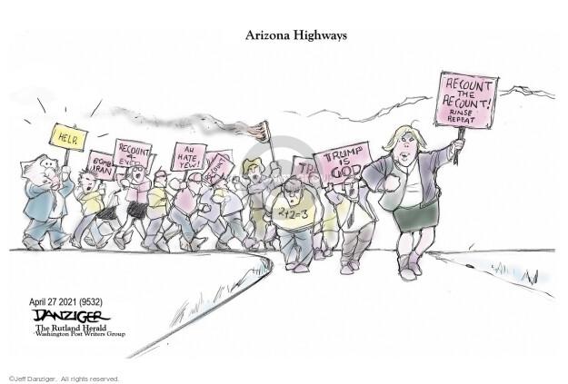 Jeff Danziger  Jeff Danziger's Editorial Cartoons 2021-04-27 voter