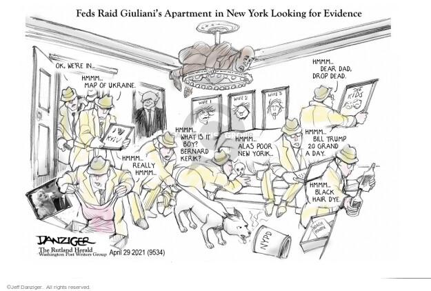 Jeff Danziger  Jeff Danziger's Editorial Cartoons 2021-04-29 new