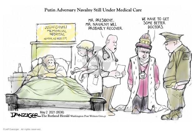 Jeff Danziger  Jeff Danziger's Editorial Cartoons 2021-05-02 some