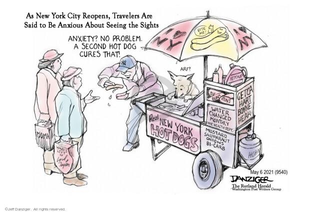 Jeff Danziger  Jeff Danziger's Editorial Cartoons 2021-05-06 health