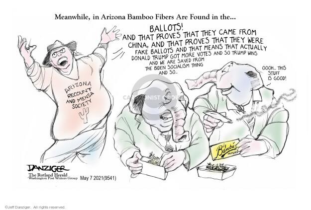 Jeff Danziger  Jeff Danziger's Editorial Cartoons 2021-05-07 voter