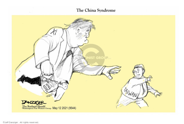 Jeff Danziger  Jeff Danziger's Editorial Cartoons 2021-05-11 China