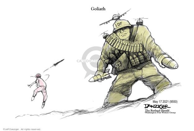 Jeff Danziger  Jeff Danziger's Editorial Cartoons 2021-05-18 violence