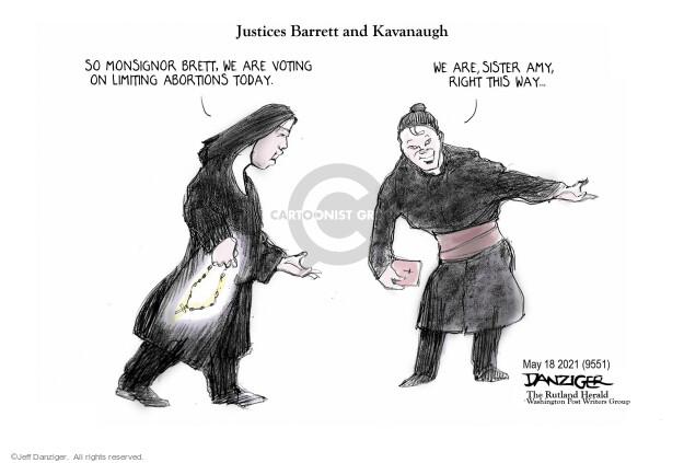 Jeff Danziger  Jeff Danziger's Editorial Cartoons 2021-05-19 justice