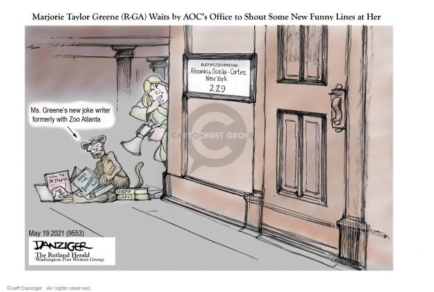 Jeff Danziger  Jeff Danziger's Editorial Cartoons 2021-05-20 office