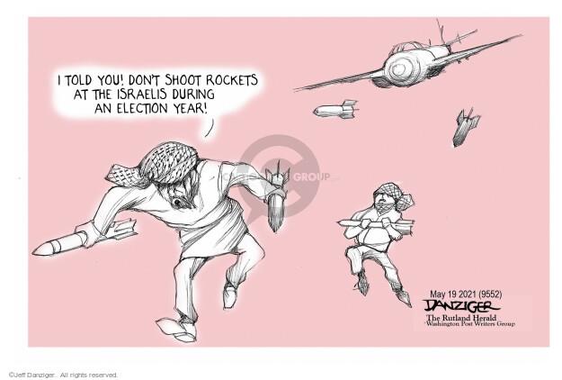 Jeff Danziger  Jeff Danziger's Editorial Cartoons 2021-05-21 election