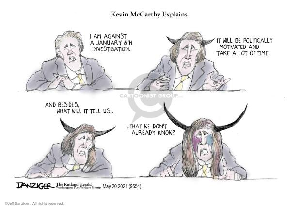 Jeff Danziger  Jeff Danziger's Editorial Cartoons 2021-05-22 republican