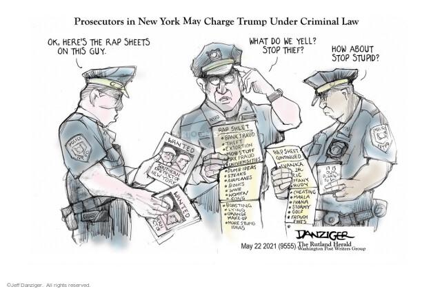 Jeff Danziger  Jeff Danziger's Editorial Cartoons 2021-05-23 new