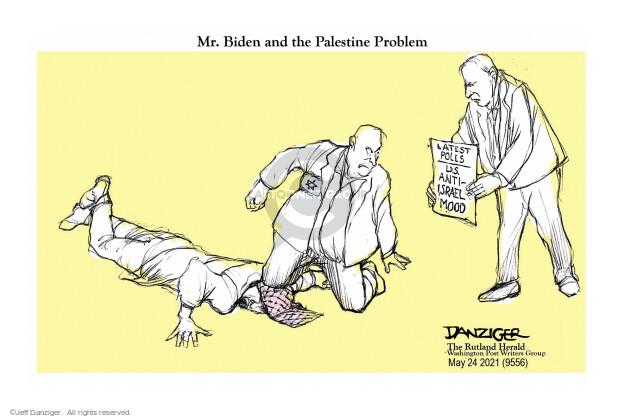 Jeff Danziger  Jeff Danziger's Editorial Cartoons 2021-05-24 violence