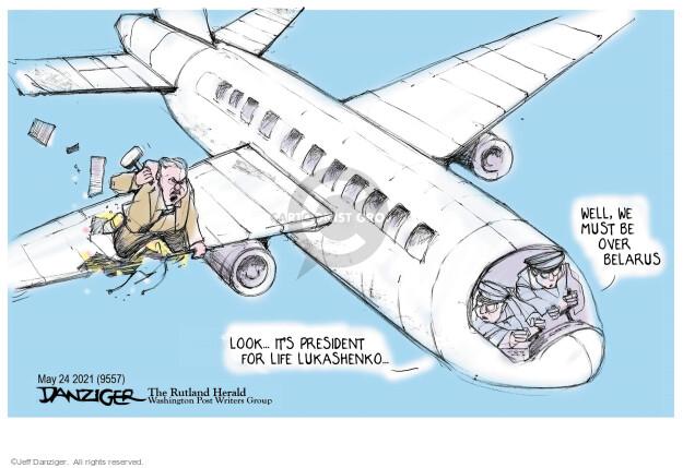 Jeff Danziger  Jeff Danziger's Editorial Cartoons 2021-05-25 editorial