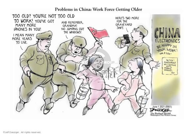Jeff Danziger  Jeff Danziger's Editorial Cartoons 2021-06-01 China