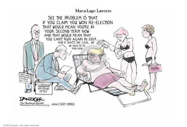 Jeff Danziger  Jeff Danziger's Editorial Cartoons 2021-06-02 2020 election Donald Trump