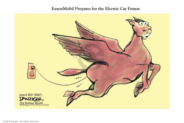 Jeff Danziger  Jeff Danziger's Editorial Cartoons 2021-06-08 car